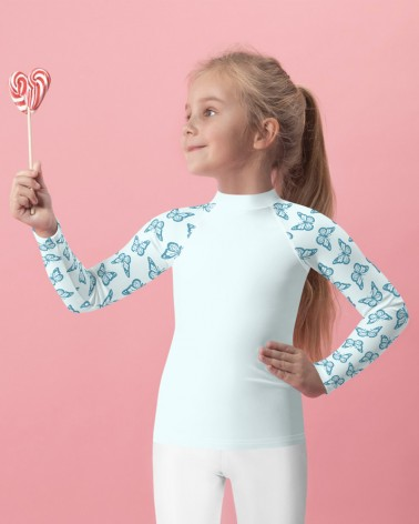 UV Protection 50+ Kids Long...